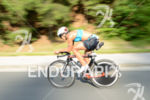 Lisa Huetthaler on the bike at the 2014 Ironman Austria…