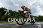 Ivan Rana on the bike at the 2014 Ironman Austria…
