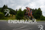 Michael Weiss on the bike at the 2014 Ironman Austria…