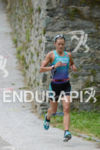 Linsey Corbin on the run of the 2014 Ironman Austria…