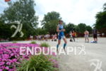 Simone Braendli on the run at the 2014 Ironman Austria…
