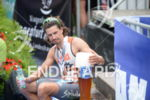 Ivan Rana at the finish of the 2014 Ironman Austria…