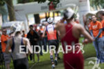 Age groupers take off for the bike leg at Ironman…