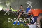 Andy Potts during the bike-to-run transition at Ironman Coeur d'Alene…