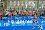 Jonathan Brownlee running at the 2014 Hamburg World Triathlon in…
