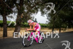 Valentina Carvallo bikes on the scenic course at the 2014…