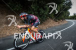 Jordan Rapp bikes on the scenic course at the 2014…