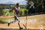 Jesse Thomas on the run at the 2014 Ironman 70.3…