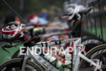 The pro transition area at the 2014 Ironman 70.3 Vineman…