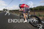 Paul Matthews in the lead pack at the 2014 Ironman…