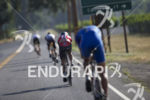 The lead pack during the bike leg at the 2014…