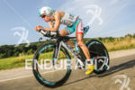 Mirinda Carfrae, future winner of the race, during the bike…