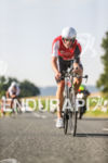Dirk Bockel during the bike leg at the Challenge Datev…