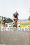 Sylvain Sudrie during the bike leg at the Challenge Datev…
