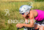 Anja Beranek at the 2014 Challenge Roth in Roth, Germany…