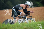 Mathias Hecht on the bike at the 2014 Ironman Switzerland…
