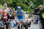 Michael Goehner on the bike at the 2014 Ironman Switzerland…
