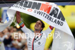 Boris Stein at the finish of the 2014 Ironman Switzerland…