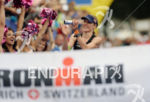 Daniela Ryf at the finish of the 2014 Ironman Switzerland…