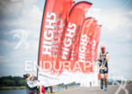 An age grouper competes in 2014 Outlaw Triathlon in Nottingham,…