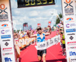 Phil Mosley finishes 2nd at 2014 Outlaw Triathlon in Nottingham,…