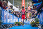 Todd Skipworth winning the Alpe d'Huez Triathlon, on July 30…