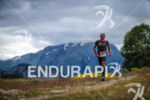Age group athletes during the run leg of the Alpe…