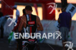 Richie Cunningham prepares for the start of the  Ironman Boulder…