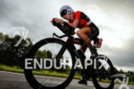 Liz Blatchford on the bike at the Ironman 70.3 European…