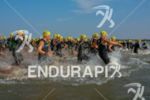 Race start  at the 2014 Ironman 70.3 Foz do Iguazu…