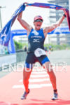 Ariane Monticeli (BRA) wins at the 2014 Ironman 70.3 Foz…
