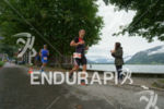 Age group athletes on the run at the Ironman 70.3…
