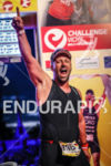 Age group athlete finishing the Challenge Vichy, on August 31st,…