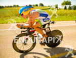 Konstantin Bachor pushes the bike pace out front at the…