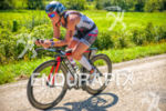 Madison local Jackie Arndt paces the bike at the Ironman…