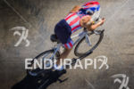 Age group athlete shows his patriotism on the bike portion…