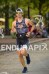 American Brandon Marsh runs steady at Ironman Wisconsin 2014 in…