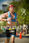 Jared Milam on the run course  at Ironman Wisconsin 2014…