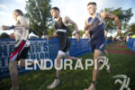 First waves go off at the 2014 Nation's Triathlon in…