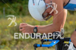 Clayton Fettel biking at the 2014 Ironman 70.3 World Championships…