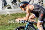 Javier Gomez biking at the 2014 Ironman 70.3 World Championships…