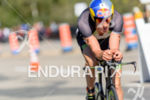 Sebastian Kienle riding at the 2014 Ironman 70.3 World Championships…