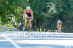 Jodie Swallow biking at the 2014 Ironman 70.3 World Championships…