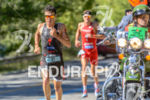 Javier Gomez overpasses Jan Frodeno at the 2014 Ironman 70.3…