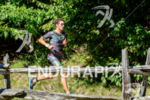 Jesse Thomas running at the 2014 Ironman 70.3 World Championships…