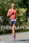 Helle Frederiksen running at the 2014 Ironman 70.3 World Championships…