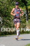 Rachel McBride running at the 2014 Ironman 70.3 World Championships…