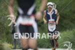Age groupers climb the steep hills during the run leg…