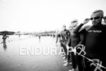 The start line at the 2014 Ironman Wales in Tenby,…