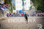 Peru Alfaro San Ildefonso competes at the 2014 Ironman Wales…